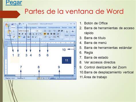 partes de la ventana de microsoft word office de 2016 microsoft powerpoint partes de las ventanas partes de la