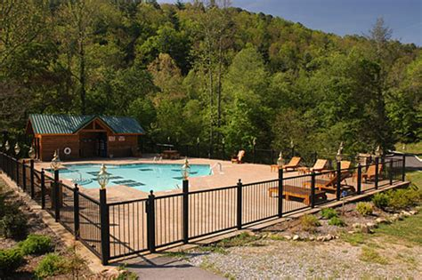 Smoky Mountain Cabin Rentals With Pool by Bearys N Cherries