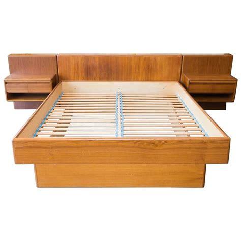 danish bed nordisk andels eksport danish modern teak queen platform