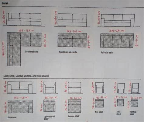 Sofa Yang Standar desain interior ukuran standar kursi sofa tempat
