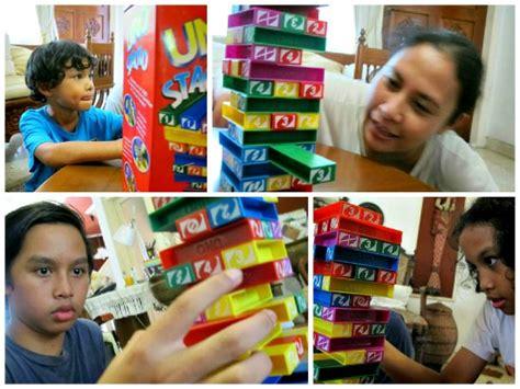 Uno Kayu Warna permainan keluarga uno stacko rumah inspirasi