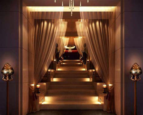 Stairwell Lighting Design Scene