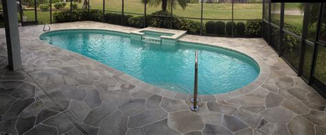 concrete designs florida pool deck painting