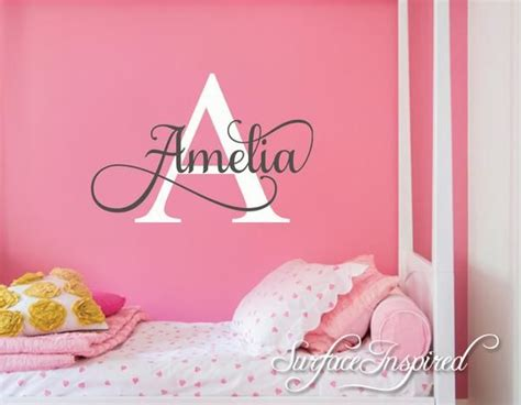 nursery wall decal personalized names wall decals for