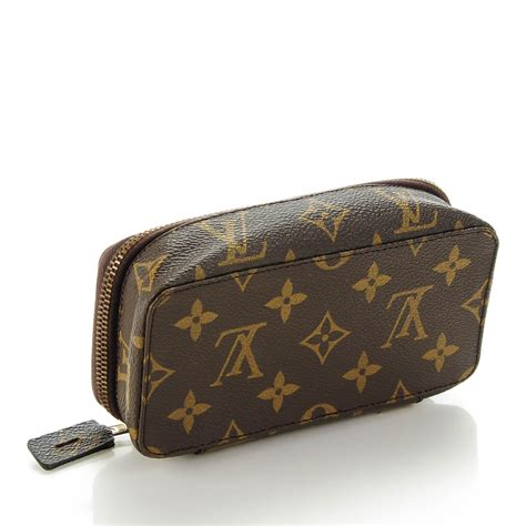 Louis Vuitton Monogram Costume Jewelry by Louis Vuitton Monogram Monte Carlo Pm Jewelry Box 135174