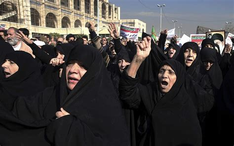 news iran minister wishes iran protesters luck says murderous