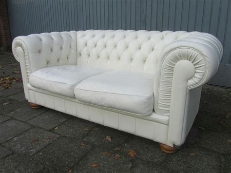 Off White Leather Chesterfield Sofa Teachfamilies Org Chesterfield Sofa White Leather