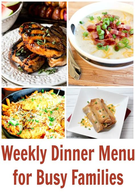 dinner menu ideas mccormick 1000 images about must have mom top mom blogger on