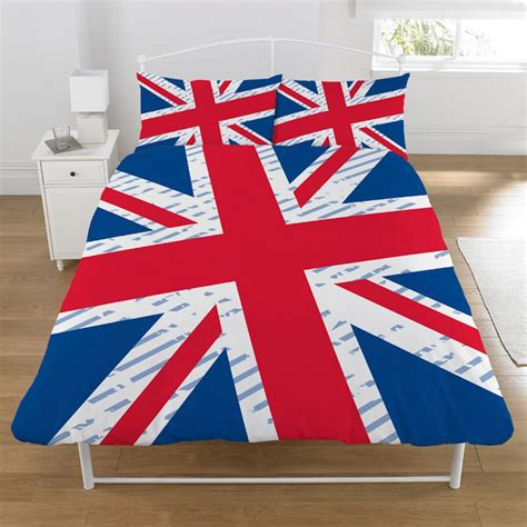 british flag bedding union jack vintage double duvet cover bedding british flag ebay