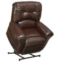 Home catnapper landon power lift chair large scale in leather 4852
