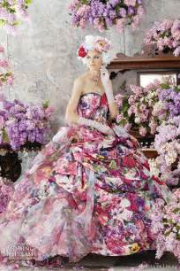 colorful wedding dresses stella de libero color wedding dresses wedding inspirasi