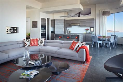 gray and orange living room ideas how to decorate your home with orange and grey this fall
