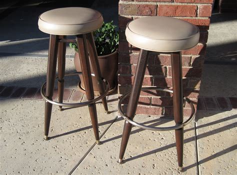 Mid Century Modern Bar Stool Mid Century Modern Bar Stools By Woodwavesinc On Etsy