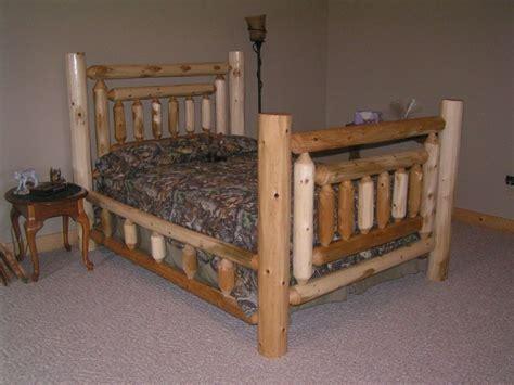 Log Bed Frames Log Furniture
