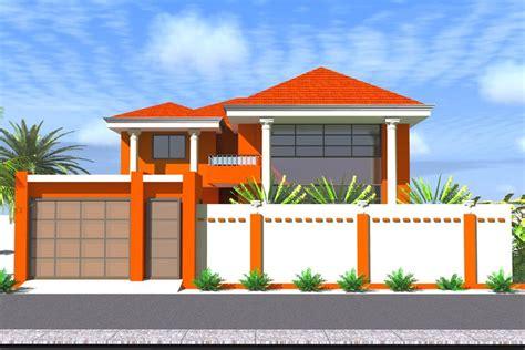 Plan De Maison Duplex En Afrique