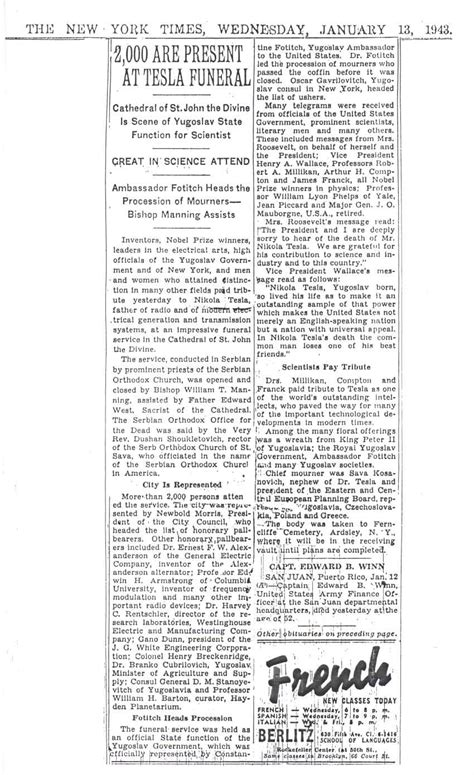 Nikola Tesla Research Paper Nikola Tesla Missing Papers Tesla Image