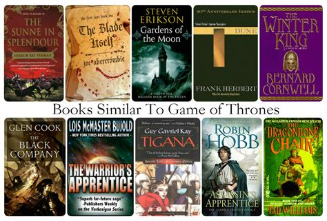 series similar to game of thrones 10 books similar to game of thrones a song of ice and fire