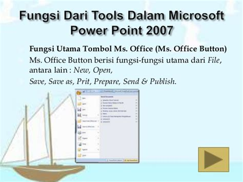 fungsi layout dalam powerpoint mengenal ms power point 2007