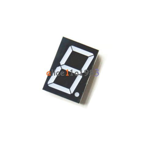 cathode led display 1 8 inch 1 digit led display 7 segment common cathode