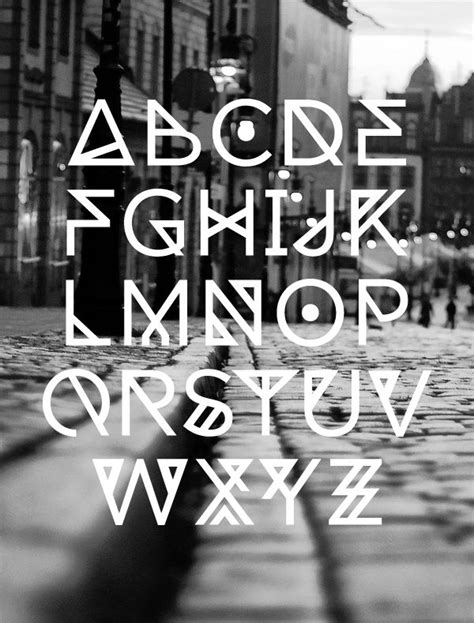 geometric tattoo font 242 best images about fonts on pinterest behance fonts