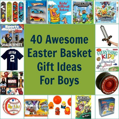40 awesome easter basket gift ideas for boys pretty opinionated