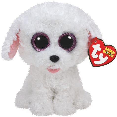 ty beanie boos dogs pippie ty beanie boos sparkly eye plush toys