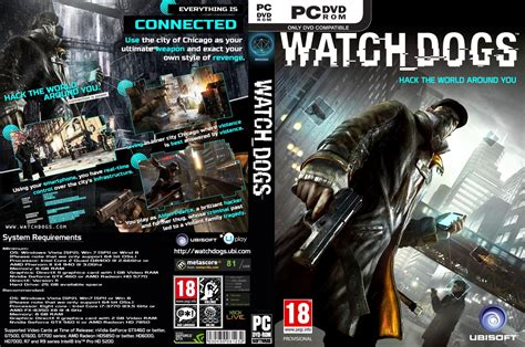 Bd Ps3 Kaset Watchdogs pc covers dogs pc dvd covers