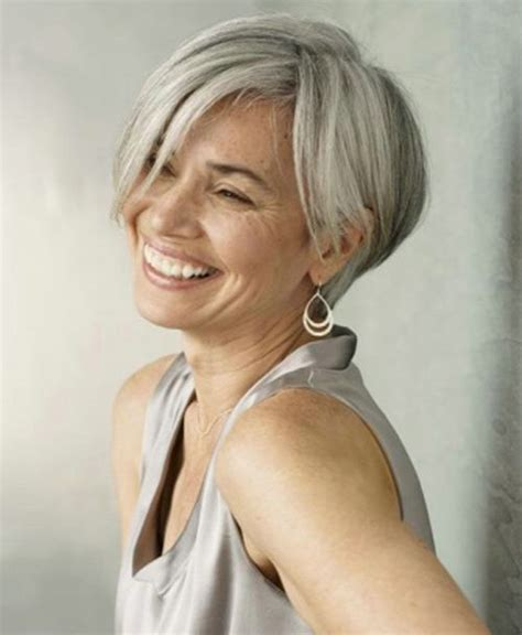 fine graycoming in of short bob hairstyles for 70 yr old grey hair styles on pinterest globezhair hairstyles