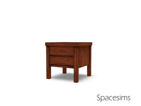 spacesims alaric bedroom spacesims alaric bedroom end table