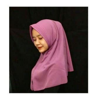 Jilbab Instan Warna Pink Spek Harga Crosse Mara Jilbab Pashmina Satin