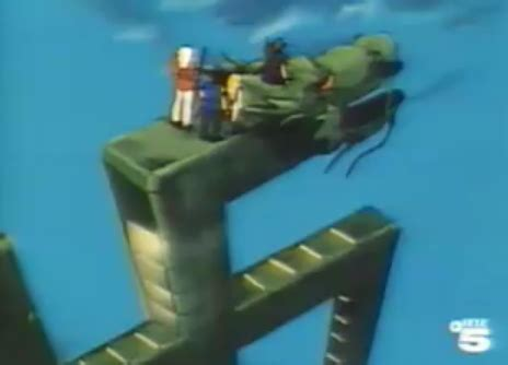 film kartun jaman dulu di tvri kabuto pedang naga biru dengan pesawat naga swastika
