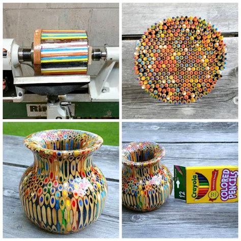colored pencil vase 25 best ideas about pencil vase on lathe