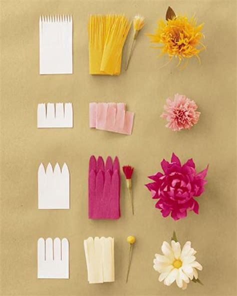 Make Flowers With Tissue Paper - for tissue paper flowers crafting diy organizing