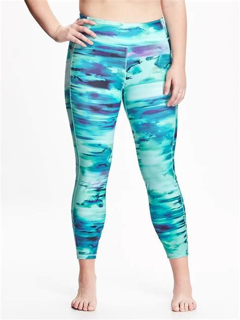 plus size patterned leggings patterned compression plus size leggings my fashion