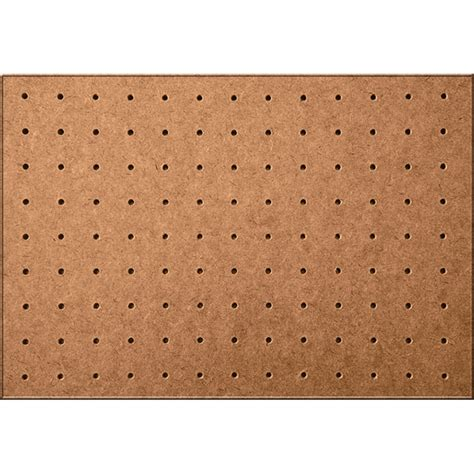 peg board masonite 1830 x 1220 x 4 8mm diagonal pegboard bunnings