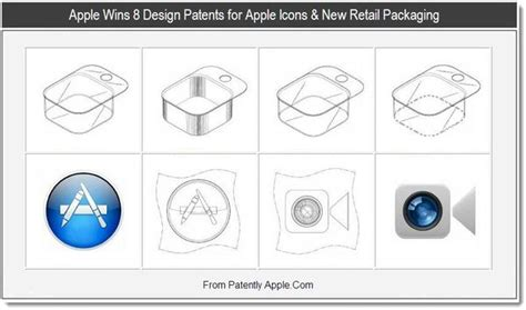 icon design patent apple wins 8 design patents for apple icons new retail