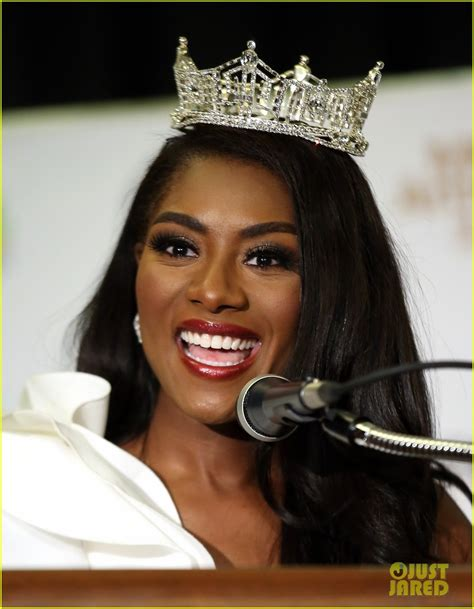 nia imani franklin about who won miss america 2019 meet n y s nia imani franklin