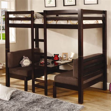 Bunk Bed With Loft Bunks Convertible Loft Bed Bunk Beds
