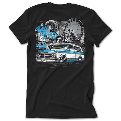 T Shirt Low And low label blue thrill ride k5 tshirt low label