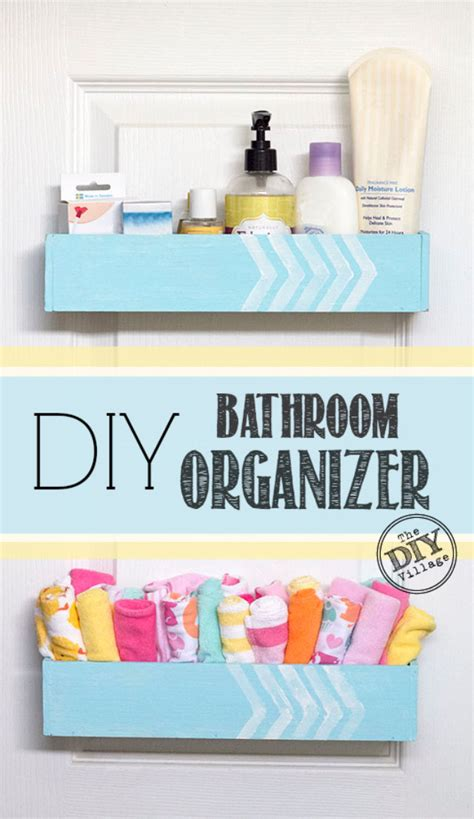 diy bathroom organiser diy bathroom organizer the diy village