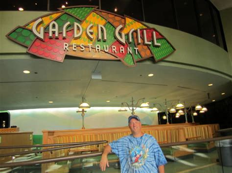 The Garden Grille by Garden Grill Restaurant Epcot Vacation Pictures Disney