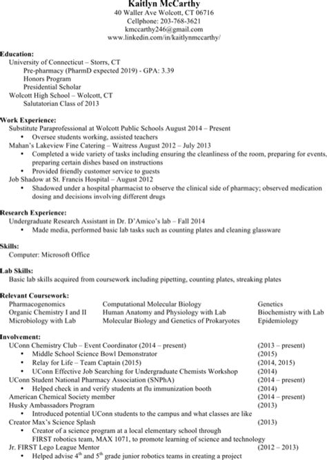 pharmacist resume templates for excel pdf and word