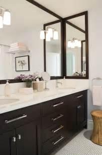 Espresso Bathroom Cabinets   Contemporary   bathroom