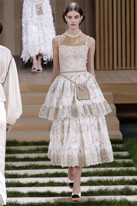 Chanel Haute Couture 2008 Front Row by Chanel Haute Couture 2016 Daily Front Row
