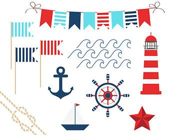 boat themed clipart anchor clipart nautical theme