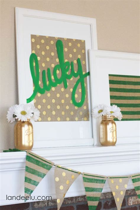luck of the st s day home decor inspiration