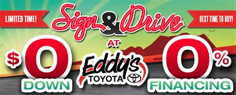 Toyota Sign And Drive Eddy S Toyota Sign And Drive Sales Event Wichita Toyota