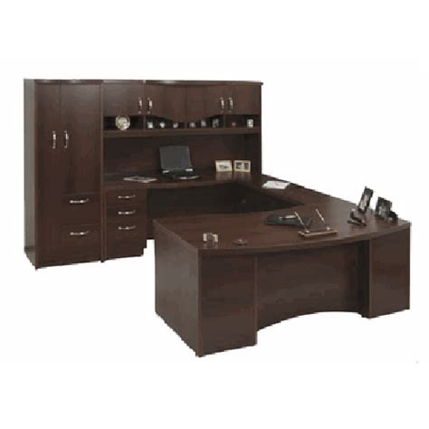 office desk furniture storage cabinet overhead hutch u