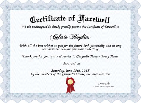 farewell certificate template certificate of moral character free top