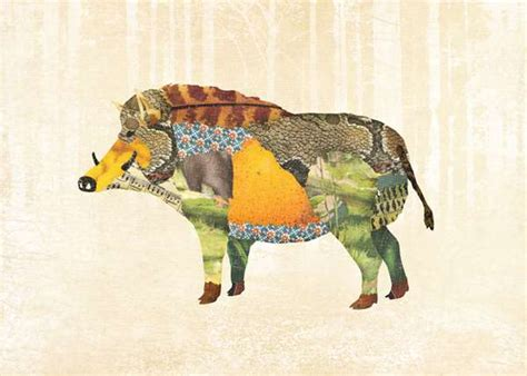 Patchwork Animals - patchwork animal illustrations gerren lamson